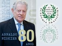Arnaldo Niskier 80 anos